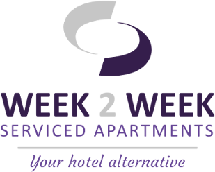 Week2Week Apartments Logo Footer